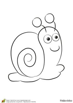 Home Decorating Style 2020 for Coloriage De Escargot, you can see Coloriage De Escargot and more pictures for Home Interior Designing 2020 16714 at SuperColoriage. Art Drawings For Kids, Drawing For Kids, Painting For Kids, Easy Drawings, Art For Kids, Crafts For Kids, Flower Coloring Pages, Animal Coloring Pages, Coloring Book Pages