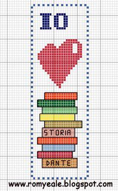 Cross Stitch Pattern Bookmark Nothing Cross Stitch Fruit, Cross Stitch Bookmarks, Cross Stitch Books, Cross Stitch Needles, Cross Stitch Cards, Cross Stitch Baby, Cross Stitching, Crochet Bookmarks, Cross Stitch Embroidery