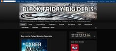 Black Friday Big Deals Affiliate Portal