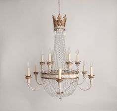 Julie Neill Designs - New Orleans handcrafted chandeliers, wall sconces, custom lighting, hand-painted tables, hand-painted vanities