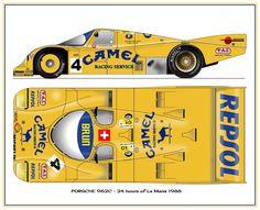 Porsche 962c Gt Cars, Indy Cars, Race Cars, Auto Volkswagen, Automobile, Racing Car Design, Porsche Motorsport, Muscle Cars, Bmw Z4