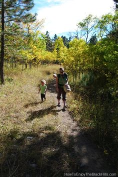 Old Blady, a great Black Hills Hiking Trail that can be enjoyed all year long
