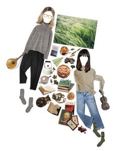 """""""As The Cold Wind Blows"""" by silentmoonchild ❤ liked on Polyvore featuring Margaret Howell, Le Creuset, M.i.h Jeans, TNA, Toast, PRIVATE LIVES and S.T. Dupont"""
