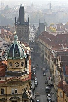 Prague, Czech Republic the best of the old world Europe and new