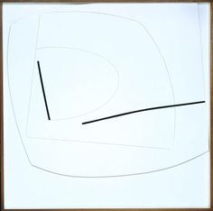 Linear Motif in Black and White - Victor Pasmore