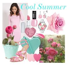 Cool Summer by prettyyourworld on Polyvore featuring beauty, Sephora Collection, HoneyBee Gardens, Hourglass Cosmetics, Betsey Johnson, StyleRocks, Christopher Kane and Manolo Blahnik