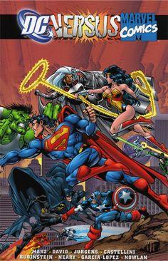 #1 DC vs. Marvel comic book from 1996