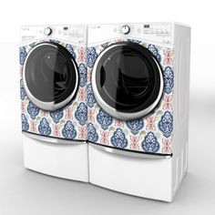 Totally frivolous, but don't you just love this patterned washer and dryer from Bertozzoni?