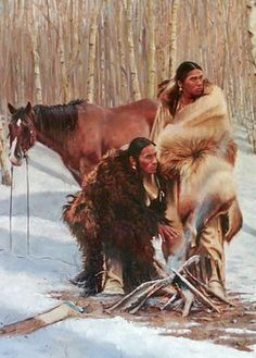 Native American Survival Skills that endure the test of time for thousands of years and able to brave every problems nature thrust at them. The full guide to teaching you food hunting,fishing, fighting, making survival tools, medical cures and more. Native American Face Paint, Native American Paintings, Native American Beauty, Native American Artists, American Spirit, American Indian Art, Native American History, Indian Paintings, Cool Paintings