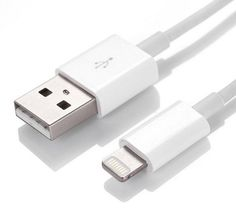 Lightning to USB Cable (3ft) for iPhones, iPads and iPods