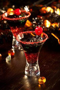 Recette d'Halloween du cocktail pour vampire