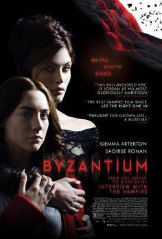 "My review of the vampire film, ""Byzantium""."