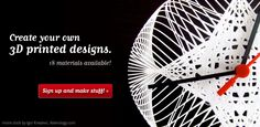 3D printing, laser cutting – design, make & build your own products with Ponoko