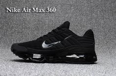 big sale 89538 64873 Nike AIR MAX 360 KPU Men All Black 40-47