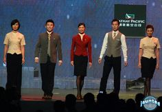 New Cathay Pacific uniforms