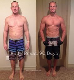 My 90 Day Body Beast results are UP! Feel free to share them as long as everybody knows that these are from Beachbody's Body Beast program.
