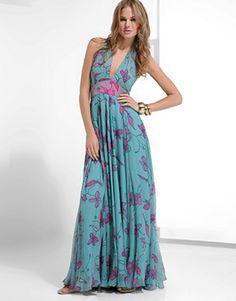Elegant Summer Floral Maxi Dresses
