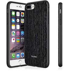 Evutec AP755S2W35 iPhone 7 Plus AER Wood Scratch Resistant Thin Slim Phone Case Lightweight Protective Case for Apple iPhone 7  Black Apricot >>> Check out the image by visiting the affiliate link Amazon.com on image.