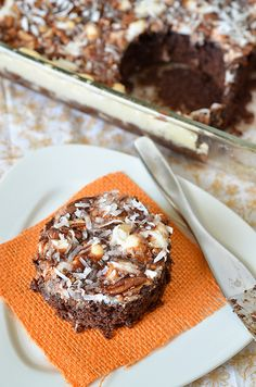 Mississippi Mud Cake recipe from Paula Deen
