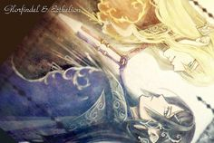 Glorfindel and Ecthelion Glorfindel, Morgoth, Elf Me, The Elf, Thranduil, Legolas, Hobbit Hole, The Hobbit, Tolkien