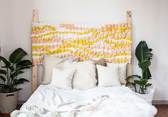 How to Make a Woven Headboard on Etsy