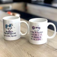 Et vous ? où est votre tête le matin ? ;-) #mug #tasse #licorne #fun #utile #café #thé #drole #gadgets #cadeau
