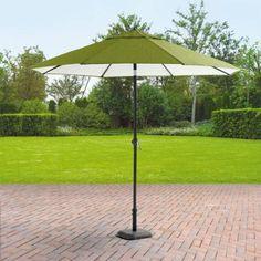 Mainstays Crossman 9' Umbrella, Green - Walmart.com