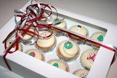 Christmas cupcakes box