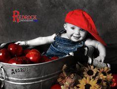 Fun in the studio. #RedRockICT #Wichita #StudioPhotography #BabyGirl