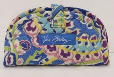 Vera Bradley Capri Blue Mini Jewelry Pouch Ring Roll Travel Case NWT SB0292 #VeraBradley