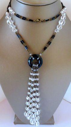 Art Deco Czech Sautoir  Fabulous Flapper Necklace