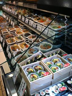 Just some of whats on offer in a depachika - The word is a combination of depato, meaning department store, and chika, meaning basement. In Tokyo the basement of many department stores is dedicated to food. Over the years, these 'food halls' have become one of the premier places to see the cutting edge of Tokyo's food scene. A depachika is made up of many stalls with a mind-boggling array of both traditional and non-traditional Japanese foods. It was my go-to for some gyoza on the run.