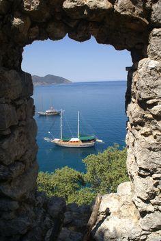 Genova Castle  25.06.11  Olympos,Antalya,Turkey