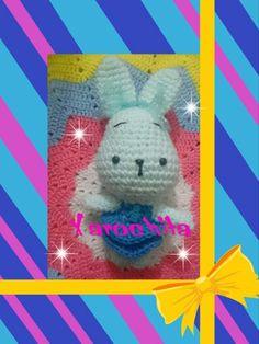 Bunny, conejo,  amigurumi,  xarochita,  kawai