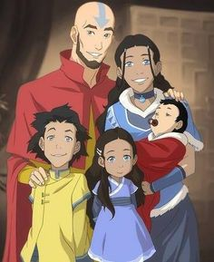 Family photo Kataang