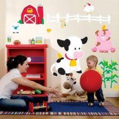 farm nursery stuff. Rocking cow instead of horse :P