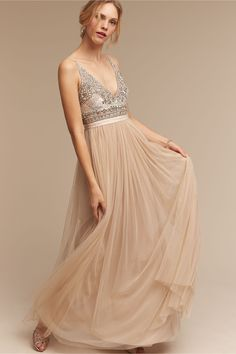 BHLDN Brisa Dress in  Bride | BHLDN