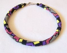 The Beading Gem's Journal: Colorful Bead Crochet Jewelry by Lutita