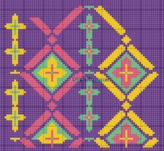 View album on Yandex. Designer Knitting Patterns, Knitting Designs, Sewing Patterns, Cross Stitch Embroidery, Hand Embroidery, Cross Stitch Patterns, Tapestry Bag, Tapestry Crochet, Mochila Crochet