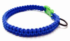 Macrame Cat Collar - Paracord 95 - Paracord Cat Collar - Cat Collar - Blue Paracord Cat Collar - Blue Cat Collar - Macrame Kitty Collar by OurUniverseShop on Etsy