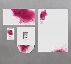 Raspberry Boom: New identity for Malina.am #identity #inspiration #pink