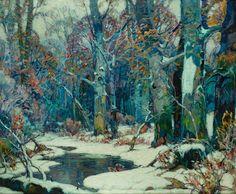 Color & Light - John Fabian Carlson - Forest pool John Fabian...