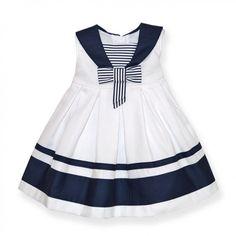 vestidomarinero niña | ... está aquí Inicio Moda / Calzado Vestidos Vestido marinero lazo BAYON