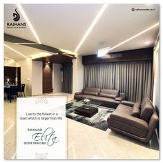 Live to the fullest in a room which is larger than life.  #RajhansElita #Surat