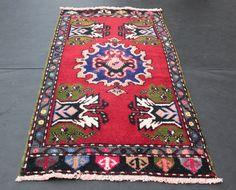 Turkish Handmade Carpet Decorative Rug Muted Rugs Modern Color Home Carpets Tribal