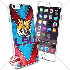 "NCAA Louisiana State University LSU iPhone 6 4.7"" Case Cover Protector for iPhone 6 TPU Rubber Case White SHUMMA http://www.amazon.com/dp/B0175GGC0I/ref=cm_sw_r_pi_dp_YfiWwb1WNG4EQ"