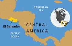 el-salvador-map. Awesome geography website! !
