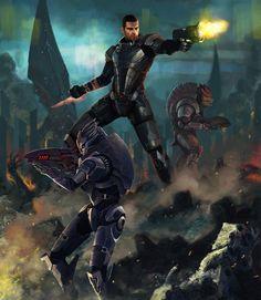 Mass Effect by LasloLF.deviantart.com on @deviantART