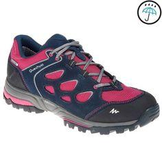 31bc34d35d5e1 Chaussures de randonnée montagne femme Forclaz Flex 3 imperméables rose  QUECHUA