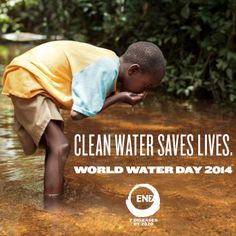 Clean water saves lives. http://www.end7.org/world-water-day-infographic to learn more.